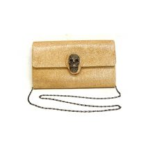 Clutch Bag Evening - Glitter Gold