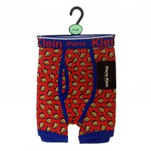 "Novelty Cotton Blend Red ""ZAP"" Men Trunks"