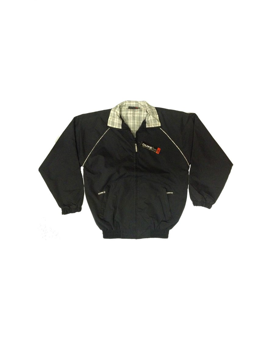 Boys Black Classic Light Weight Summer Jacket
