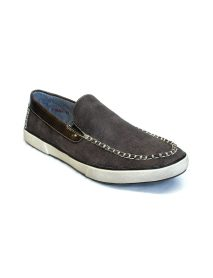 Loafers In Dark Brown - Men Flat Shoes