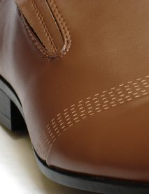 Stitching Decorated Brown Men Formal Shoes