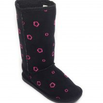 Boots For Winter - Mid Calf In Black