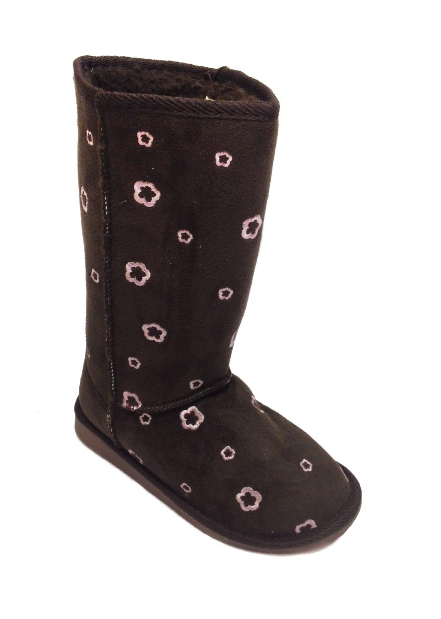 Boots For Winter - Mid Calf In Brown