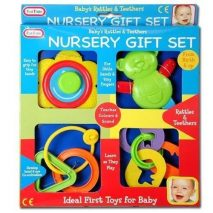 Nursery Set - Rattles And Teethers