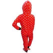 Onesie From Nifty Kids in Red