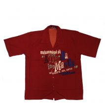 Muhammad Ali Themed Men Shirt - Red