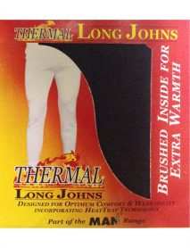 Thermal long johns charcoral