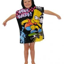 Simpsons poncho towel