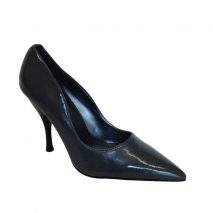 Graphite Ladies Pointed High Heels