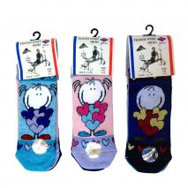 Gym Ladies Socks - Assorted 3 Pack