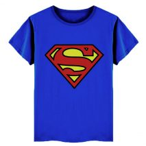 Superman Themed Boys Pure Cotton T-Shirt