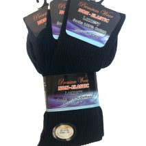 Pure Cotton Socks For Men - Dark Colours (3 pairs)