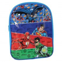 DC Justice League Superman/Batman/Flash and Green Lantern Backpack