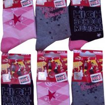 Childrens High School Musical 3 socks 6 pairs