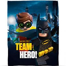 DC Batman Lego Movie Fleece Blanket