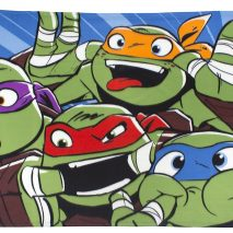 Character World TMNT Clowns Fleece Blanket