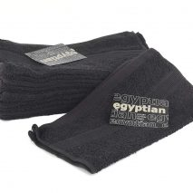Egyptian 100 Percent Cotton Face Towel, Black