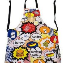 Apron Multi-coloured with Food Images