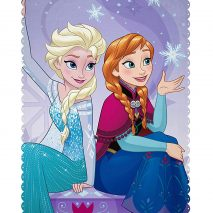 Disney FROZEN Transparent' Fleece Blanket