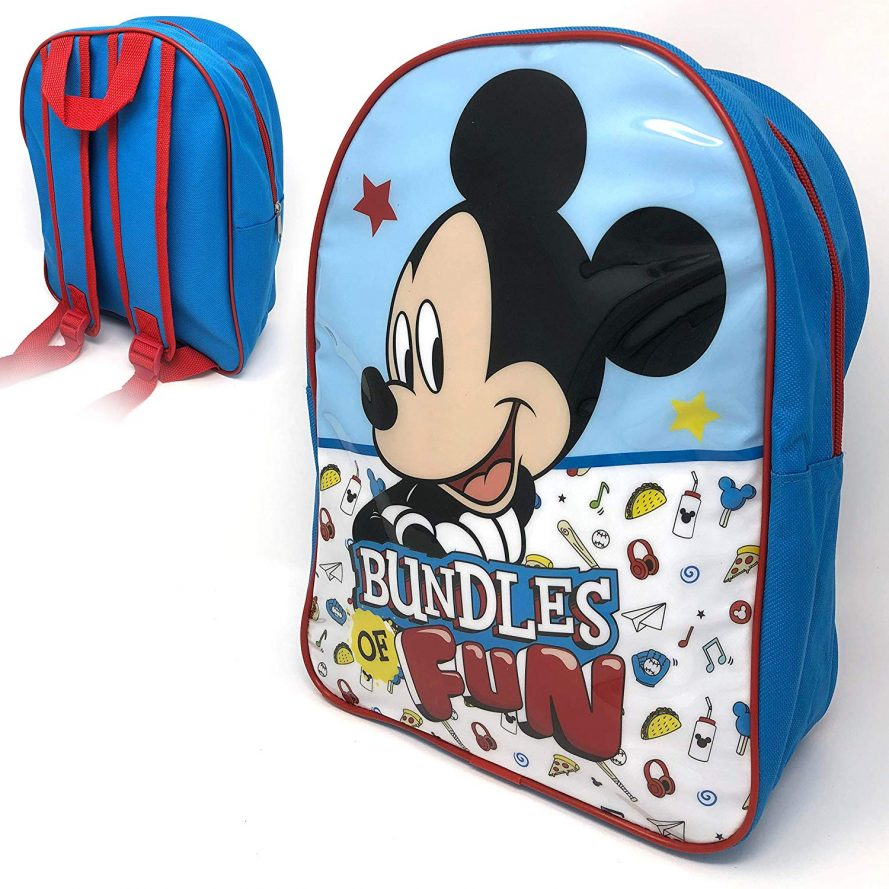 Disney Mickey Junior School Children's Backpack