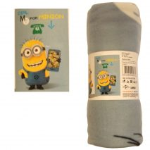 Minion 'Dial M For Minion' Fleece Blanket