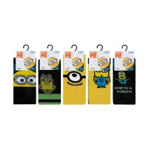 Stalwart 71414-SW-DISC Men's Minions Socks
