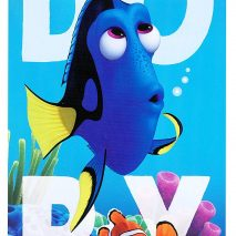 Official Disney 'Finding Dory' Towel - Dory Nemo Cotton Beach Bath Towel