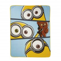 Minion 'Split' Fleece Blanket