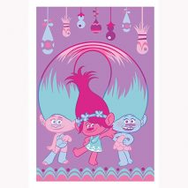 Trolls Girls Fleece Blanket