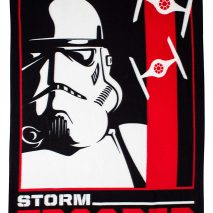 Star Wars Trooper Fleece Blanket