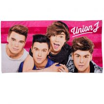 Union J Boyz Beach Towel