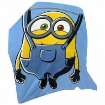 Minion 'Washline' Fleece Blanket