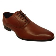 621 -Brown- Men's Stylish Formal Shoes
