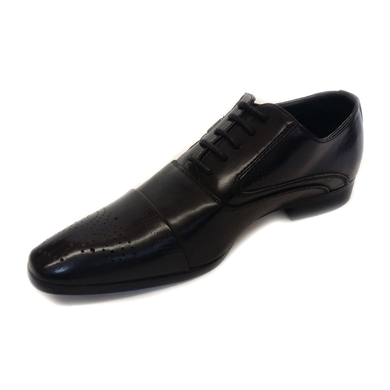 622 - Black - Men's Formal Shoes