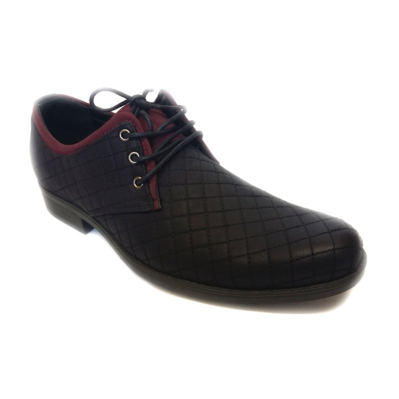 892 -Black- Men's Stylish Casual Leather Shoes