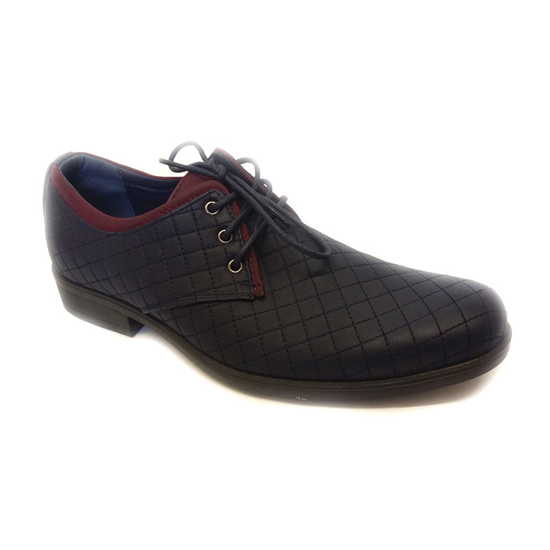 892 -Blue- Men's Stylish Casual Leather Shoes