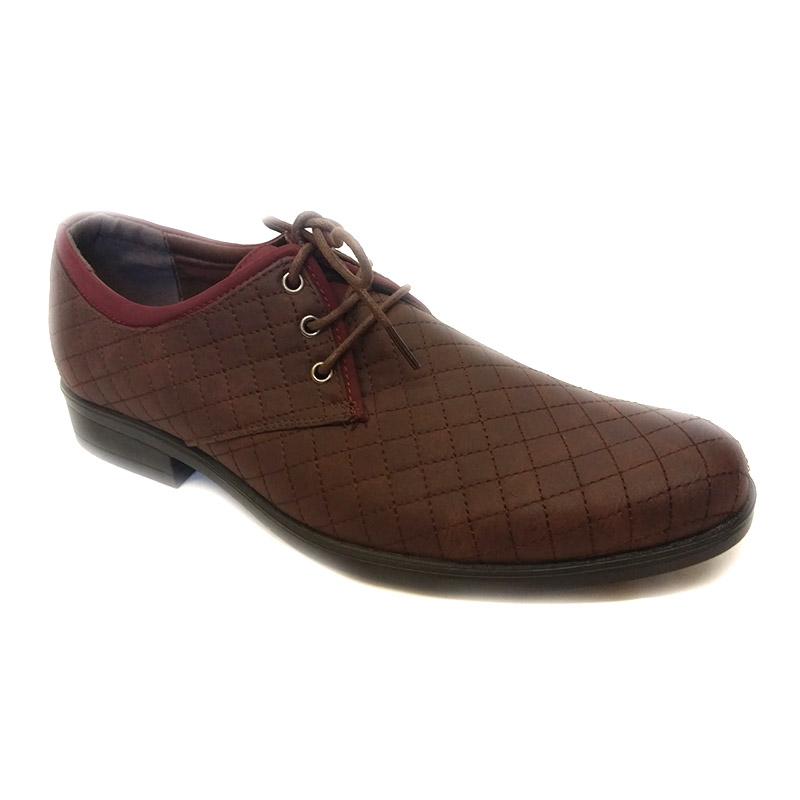 892 -Brown- Men's Stylish Casual Leather Shoes