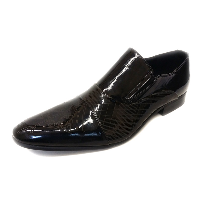 A0903512-U49 - Black - Men's Formal Design Shoes