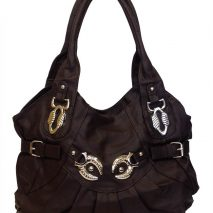 Handbag In Coffee Brown